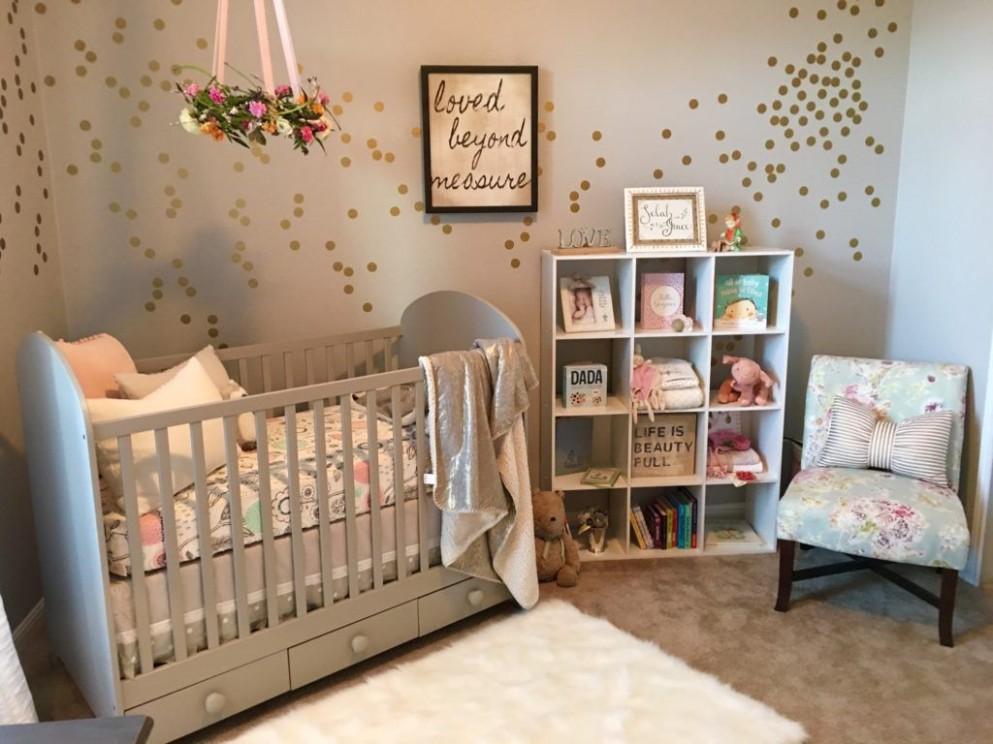 A Serene and Calming Nursery for Selah Grace - Project Nursery  - Baby Room Nursery