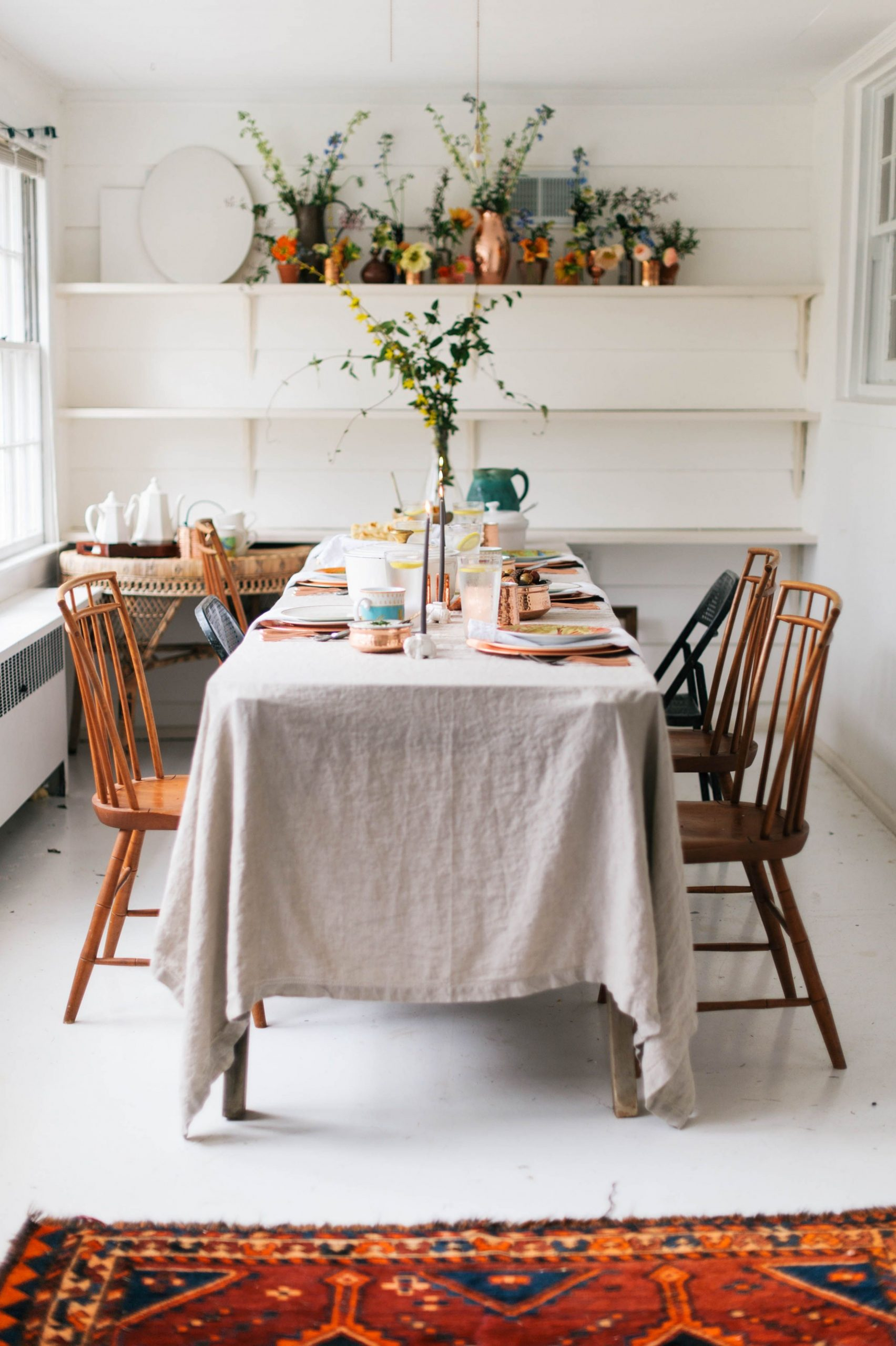 An India-Inspired Feast with Williams Sonoma - A Daily Something  - Dining Room Ideas Tablecloth