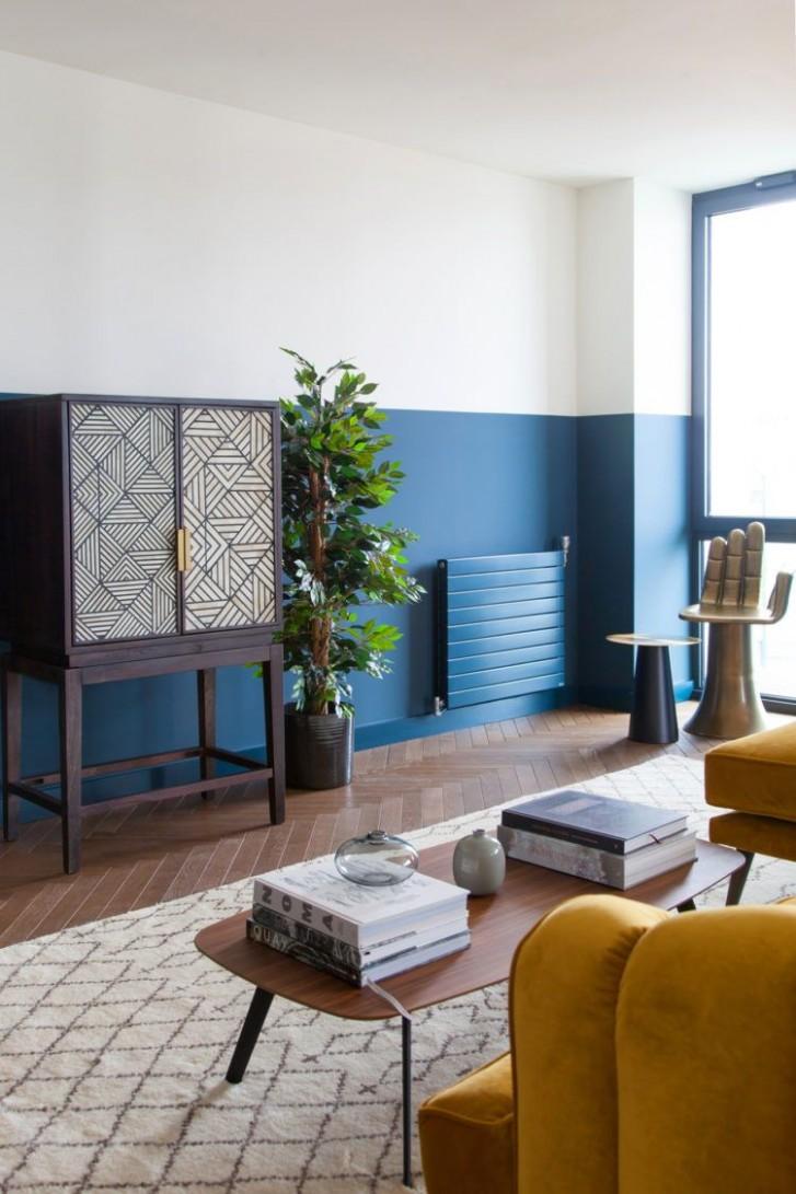 Apartment Number 12  UK Interior Design Blog  Room, Half painted  - Apartment Design Guide Uk