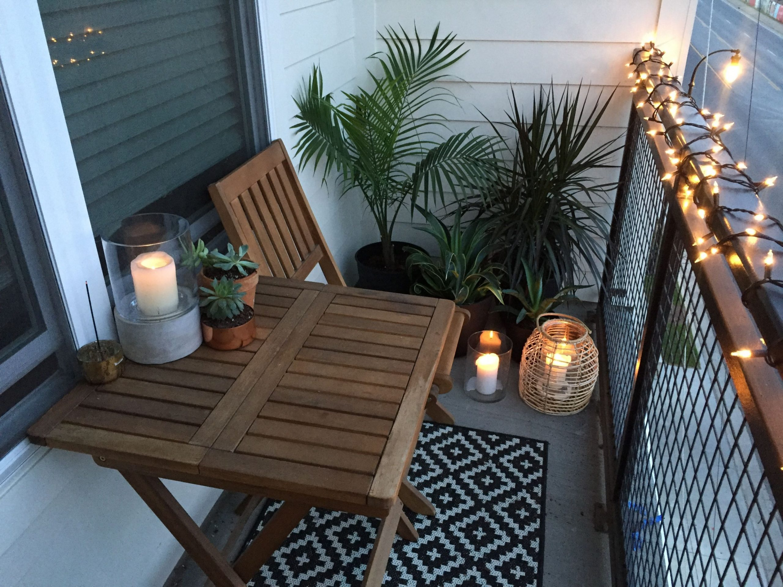 Apartment small balcony decor ideas and design