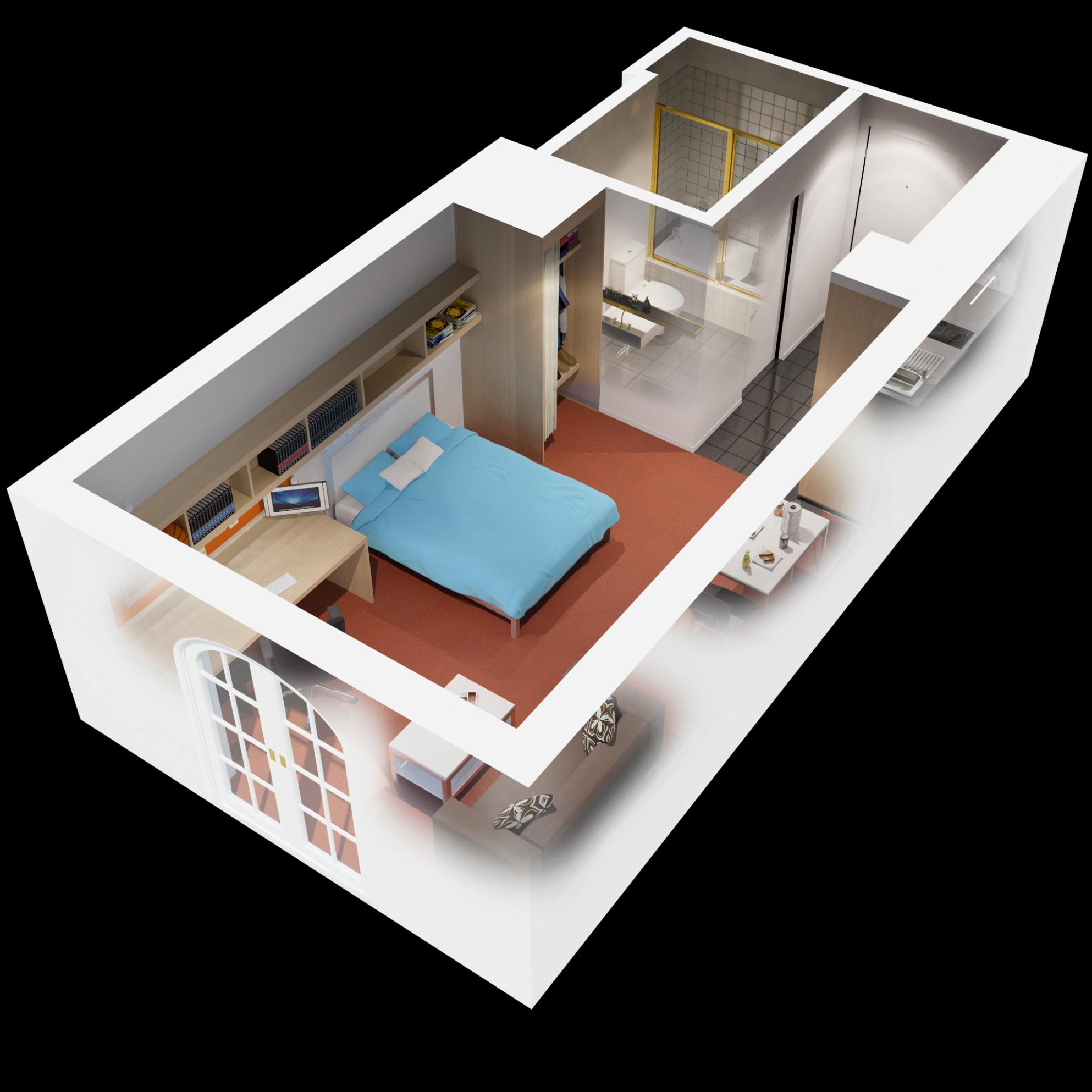 Apartments, 8d Floor Plan 8 Bedroom Apartment Design Idea: Which 8  - Apartment Design One Bedroom
