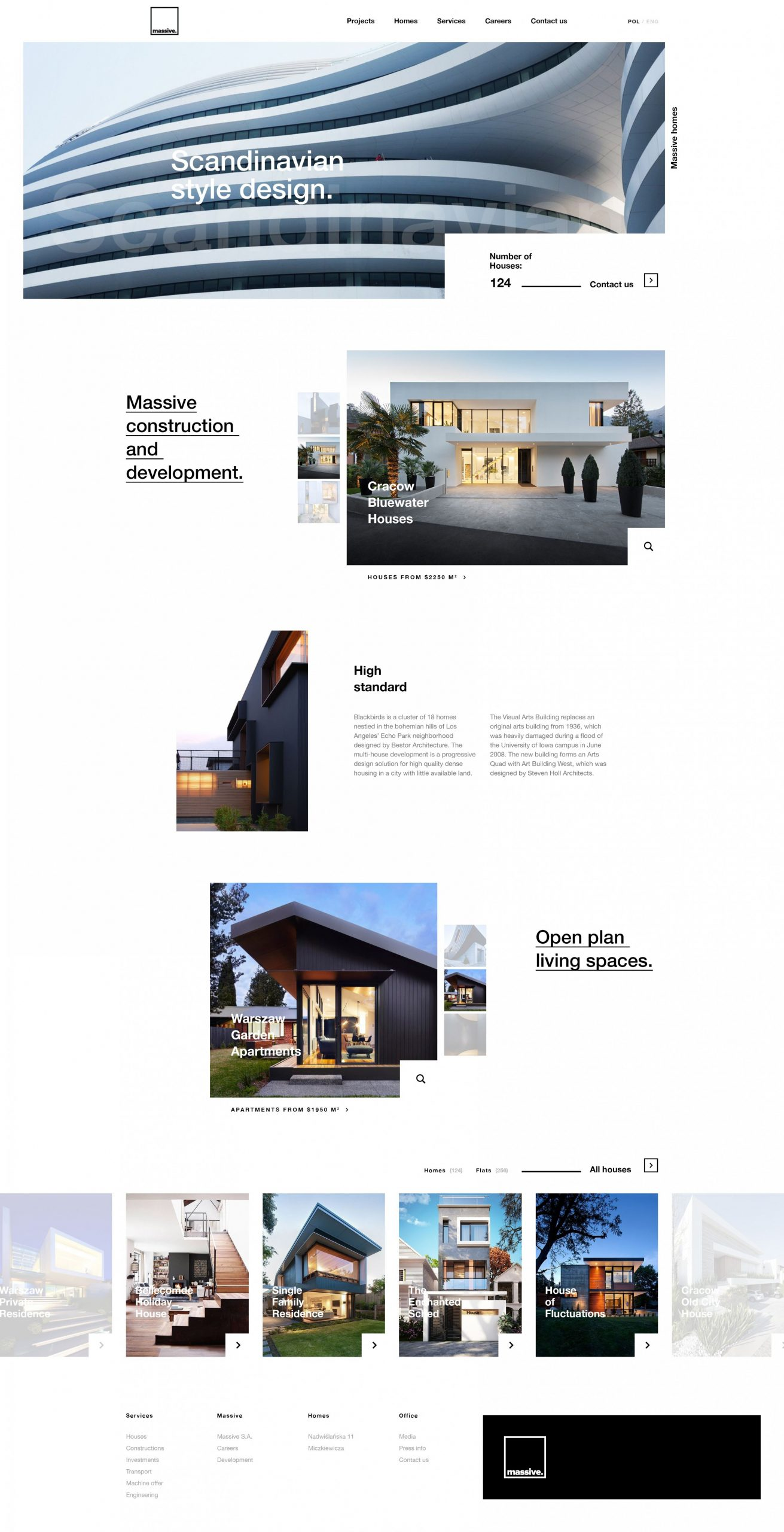 Apartments  Real estate website design, Web layout design  - Apartment Website Design Inspiration
