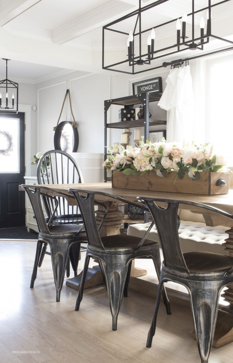 Awesome 10 Modern Farmhouse Dining Room Decorating Ideas https  - Dining Room Ideas Modern Farmhouse
