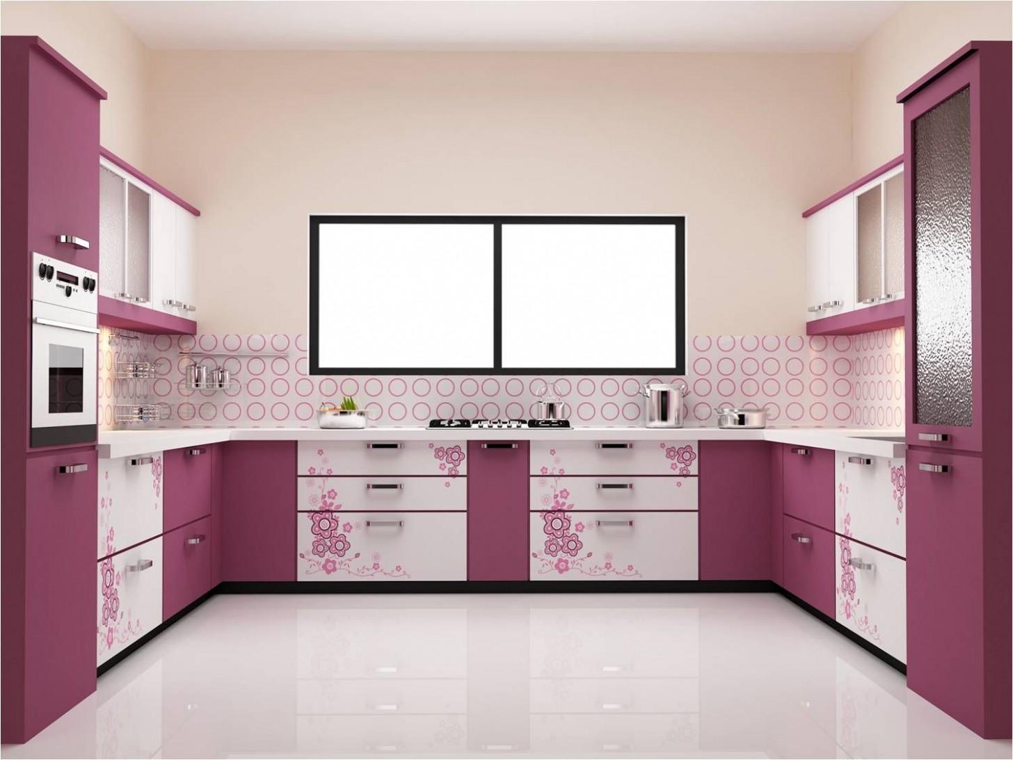 Awesome German Kitchen Designs  Kitchen modular, Simple kitchen  - Pink And Purple Kitchen Cabinets