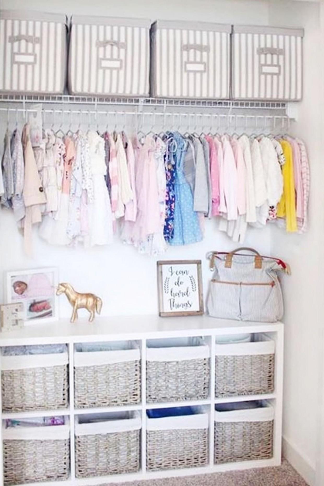 Baby Closet Ideas: 10 Nursery Closet Organization, Storage and  - Baby Room Storage Ideas