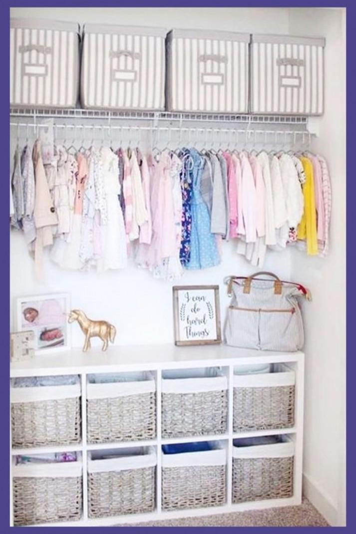 Baby Closet Ideas: 12 Nursery Closet Organization, Storage and  - Closet Ideas For Baby Nursery