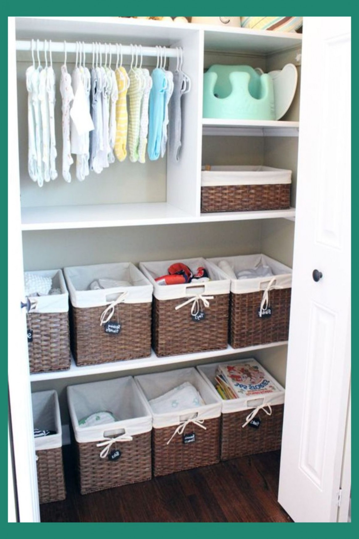 Baby Closet Ideas: 12 Nursery Closet Organization, Storage and  - Closet Ideas For Baby Nursery