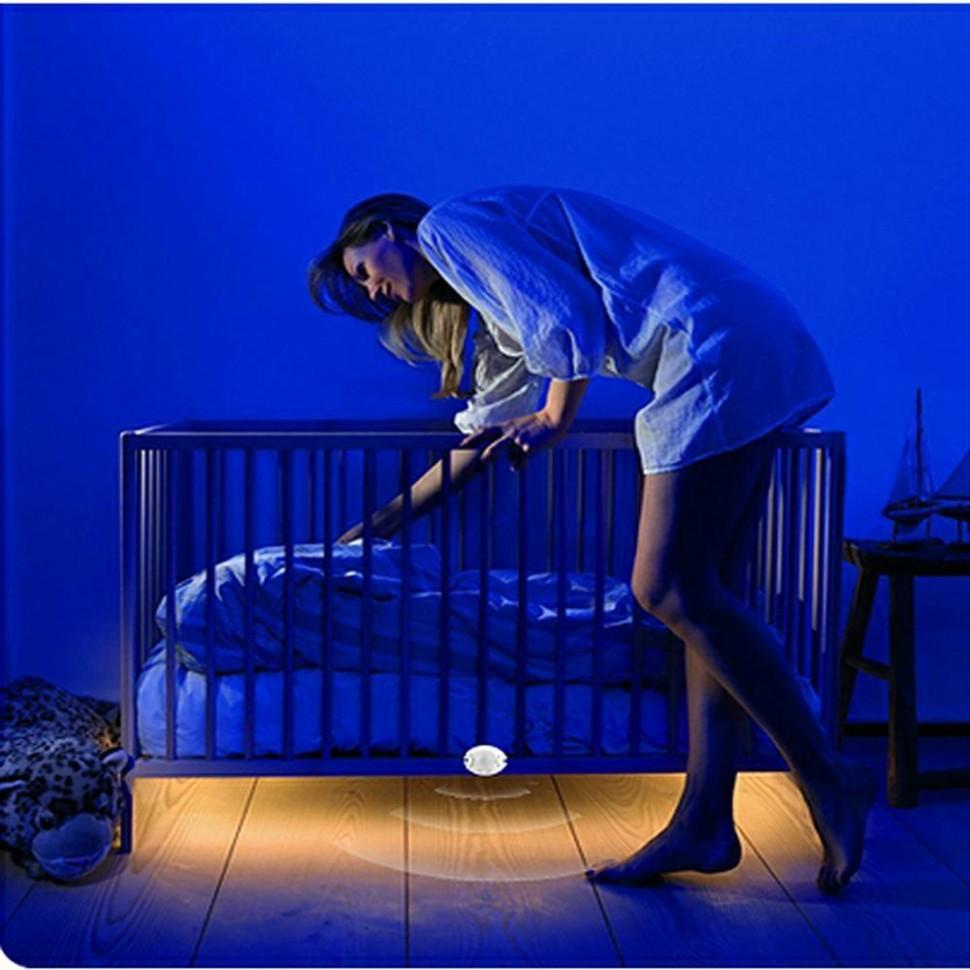 Baby Rooms Night Lamp PIR Motion Sensor Led Strips Light Under Bed Stair  Bookcase Kitchen Safe Emergency Night Light Home Decor - Baby Room Night Light