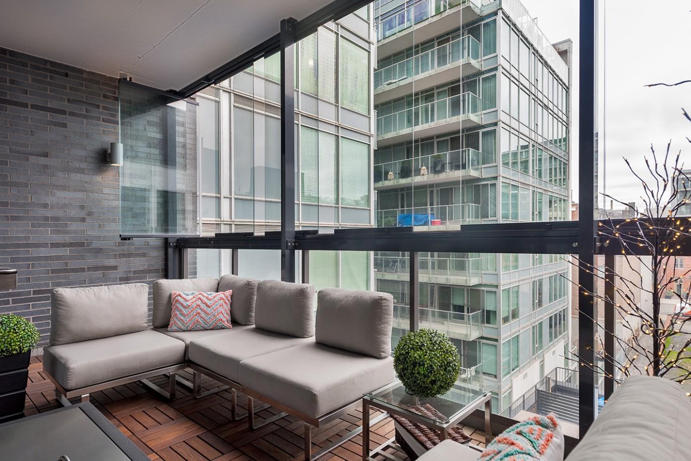 Balcony Enclosures in Vancouver, Toronto and Across Canada  Lumon  - Apartment Balcony Enclosure Ideas