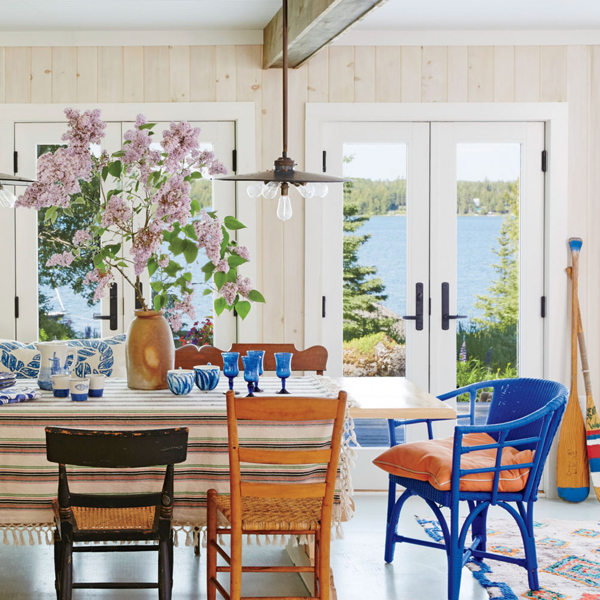 Beach House Dining Rooms  Southern Living - Nautical Dining Room Ideas