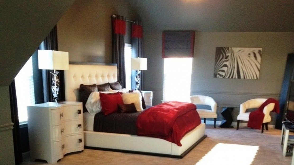 Beautiful Red and Black Bedroom Ideas — Oscarsplace Furniture Ideas - Bedroom Ideas Red Black And White