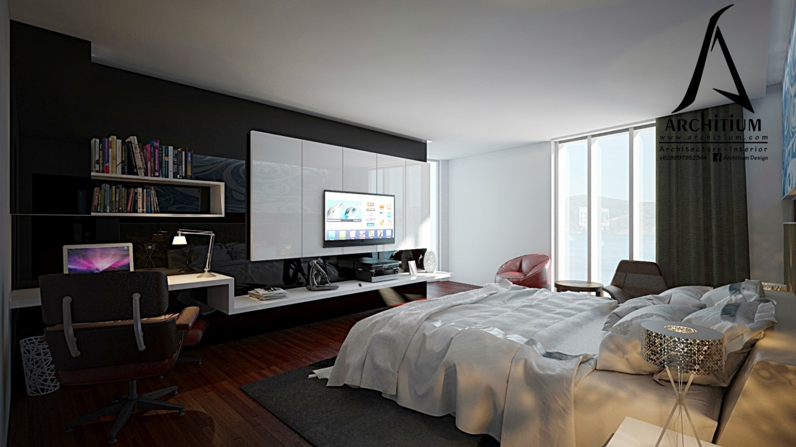 Bedroom Apartment Design Archives - Architium - Apartment Interior Design Jakarta