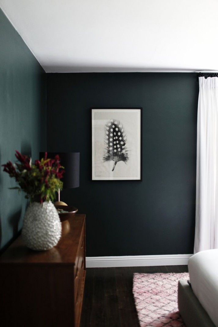 Bedroom Ideas Dark Green Walls  Home Decor - Bedroom Ideas Dark Green