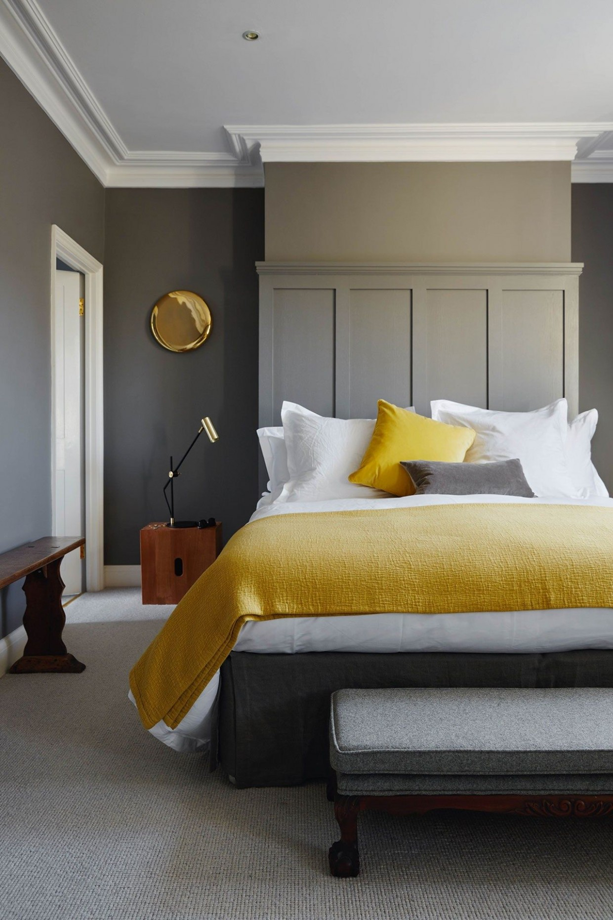 Bedroom ideas  Home decor bedroom, Remodel bedroom, Bedroom interior - Bedroom Ideas Mustard