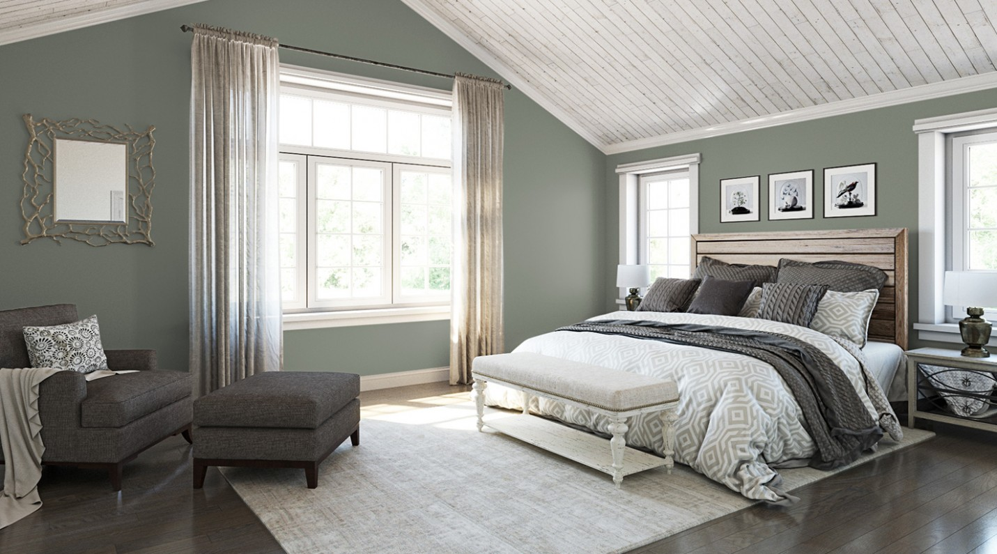 Bedroom Paint Color Ideas  Inspiration Gallery  Sherwin-Williams - Bedroom Ideas Paint
