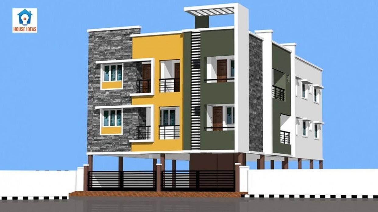 Best Apartment elevation design ideas  apartment front elevation designs - Apartment Design Elevation