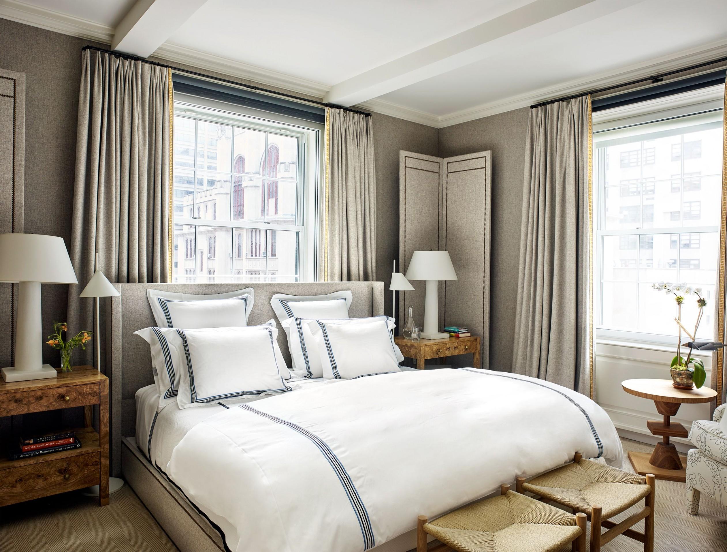 Best Bedroom Curtains - Ideas for Bedroom Window Treatments - Window Ideas Bedroom