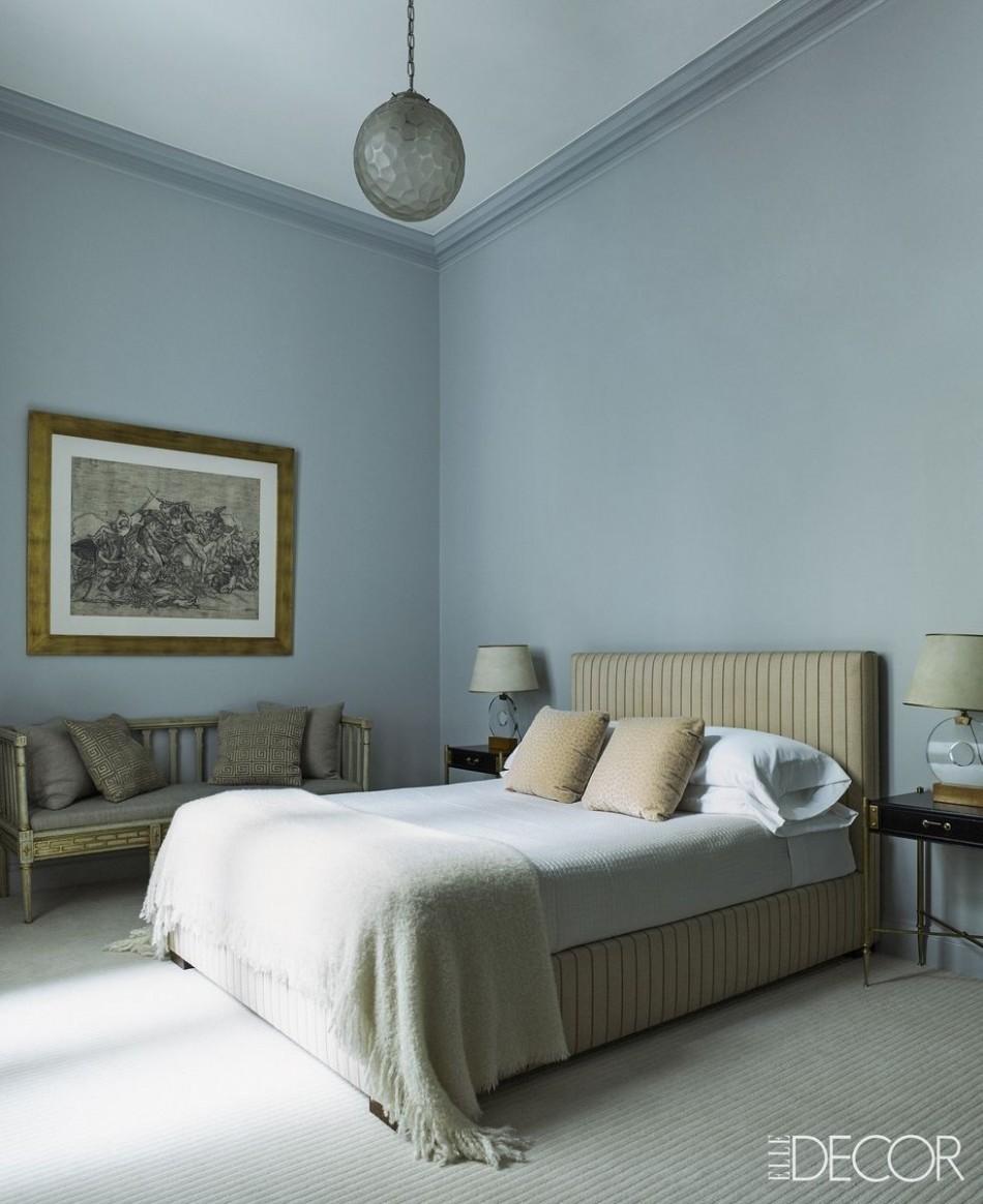Best Blue Bedrooms - Blue Room Ideas - Bedroom Ideas Light Blue Walls