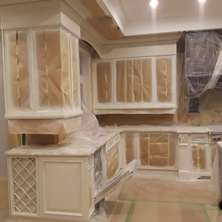 Best GTA Kitchen Cabinets Painting  Bright Coating Solutions - Kitchen Cabinets Refinishing Services