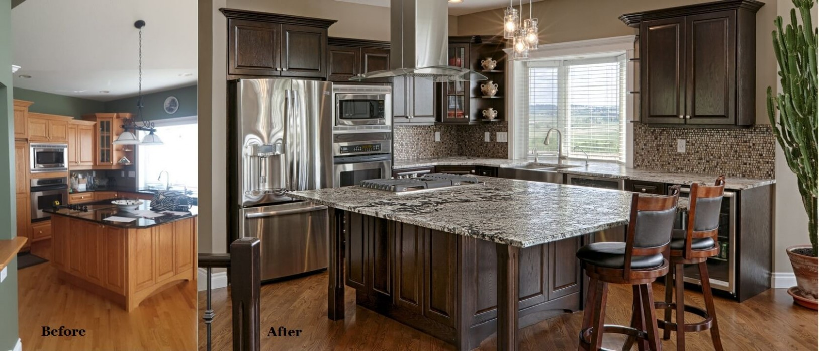 Best Kitchen Cabinet Painting & Refinishing In Calgary - Kitchen Cabinets Refinishing Services