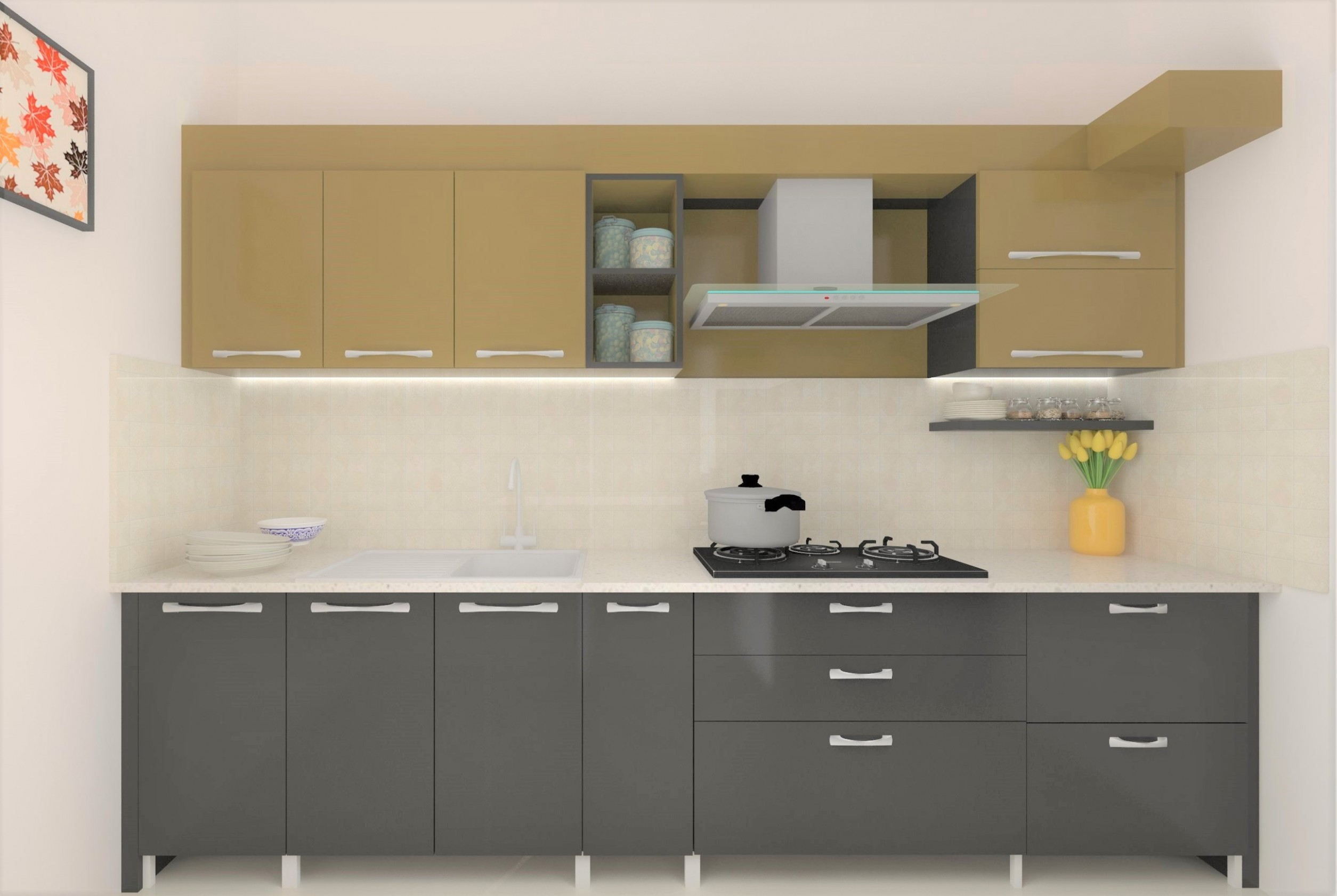 Best Modular Kitchen in Bangalore  L & U Shape Kitchen  - Used Modular Kitchen Cabinets Bangalore