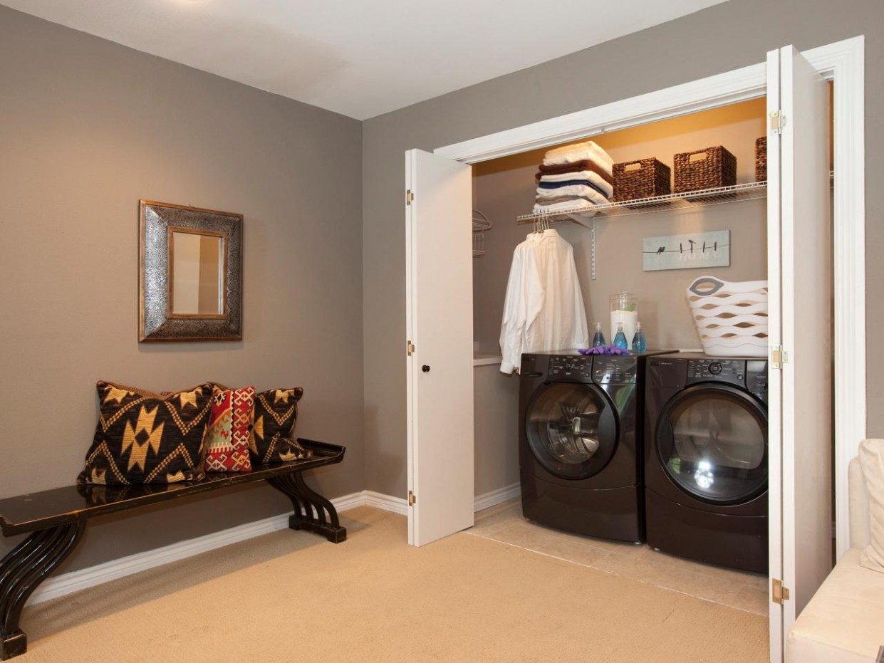 Best Way to Design Your Utility Room Layout - The Architecture Designs - Laundry Room Guest Bedroom