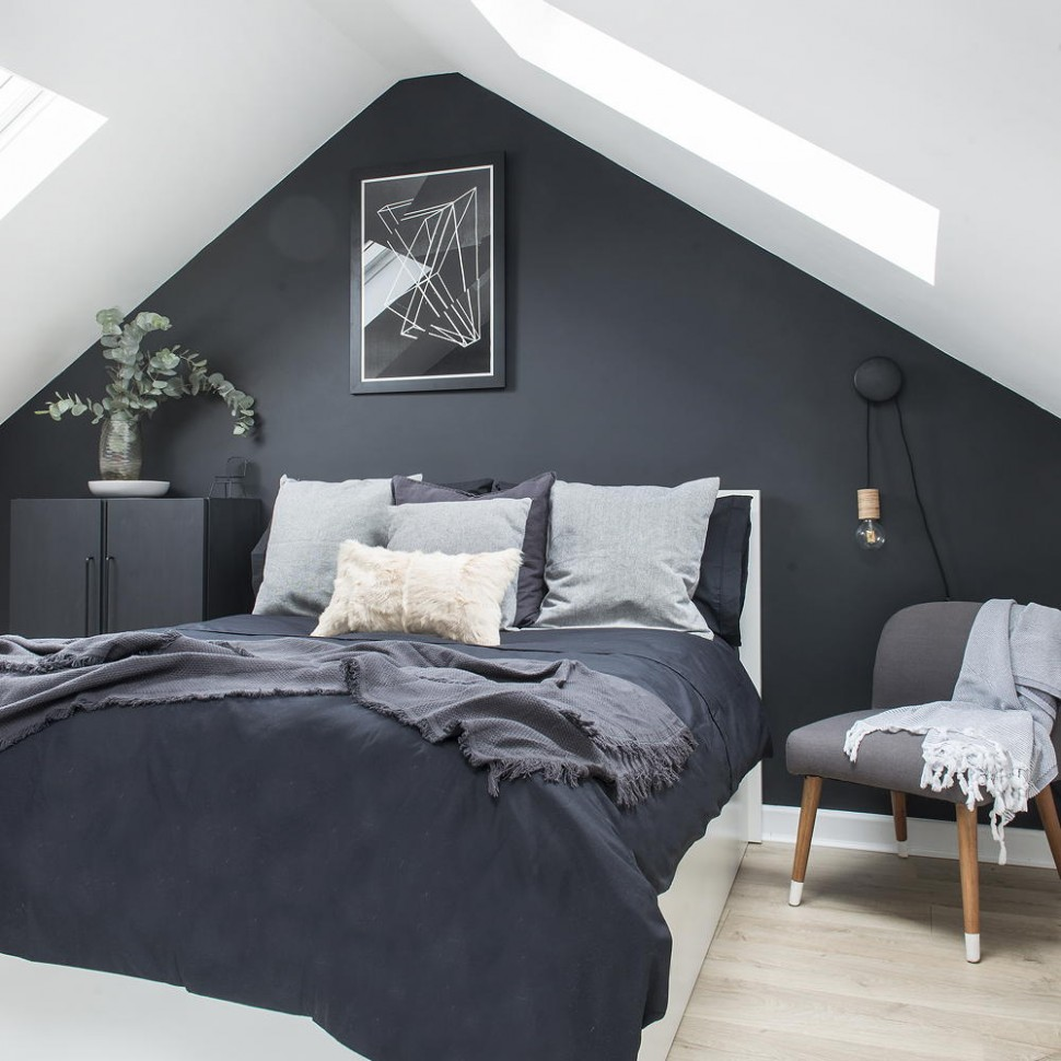 Black and white bedroom ideas with a timeless appeal - Bedroom Ideas Black