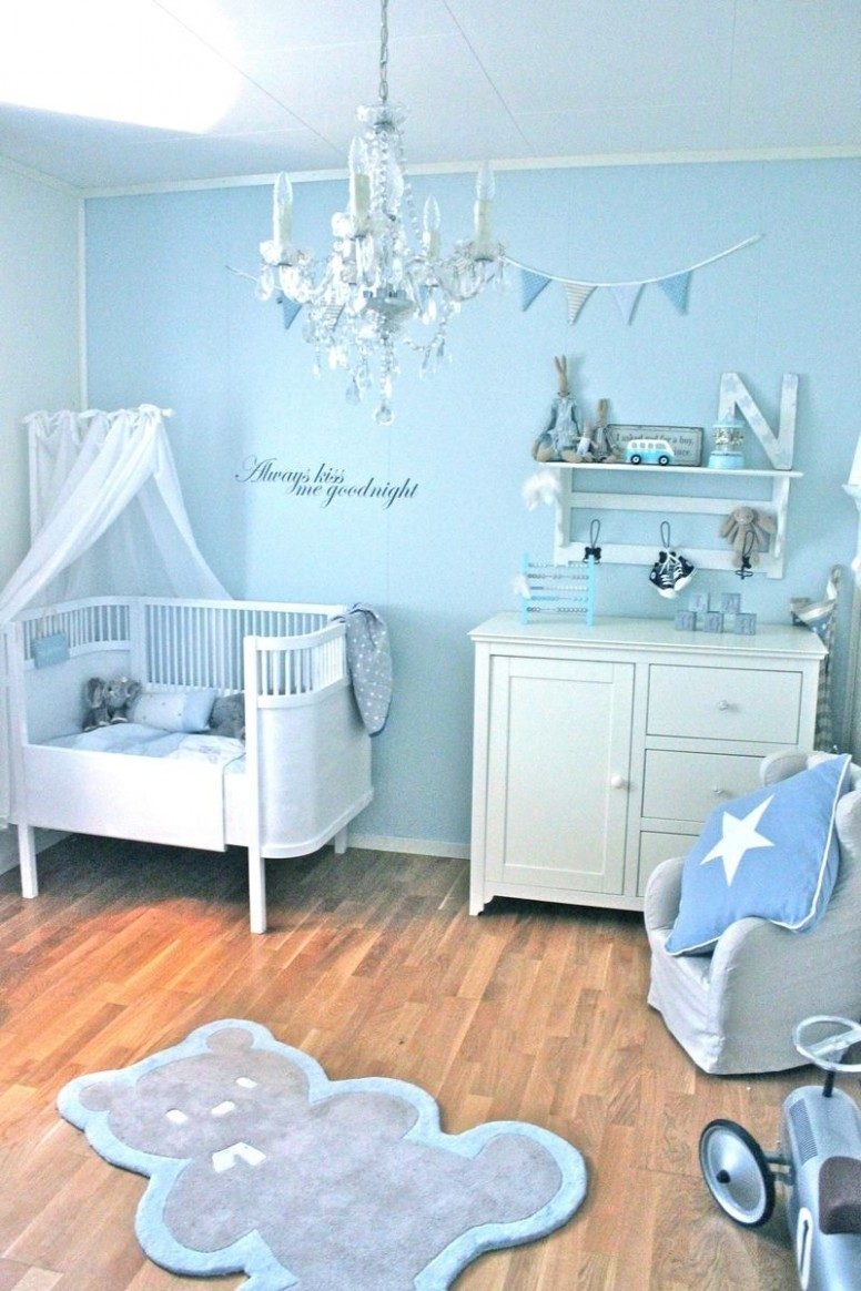 Bloggen er fjernet  Baby boy blue nursery, Baby boy bedroom, Baby  - Baby Room Blue