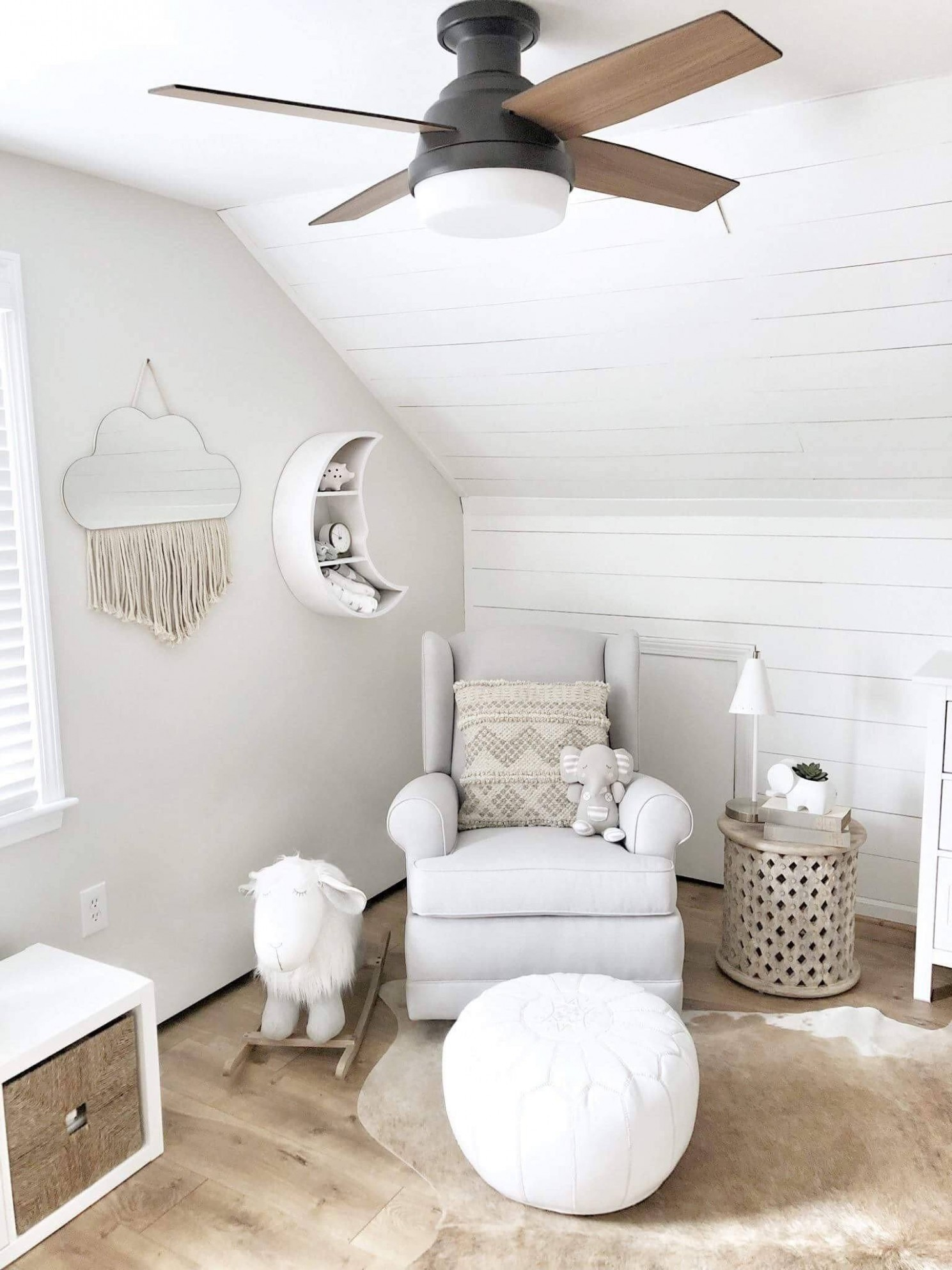 Blogger feature: Why you need a nursery ceiling fan– Hunter Fan - Baby Room Ceiling Fan