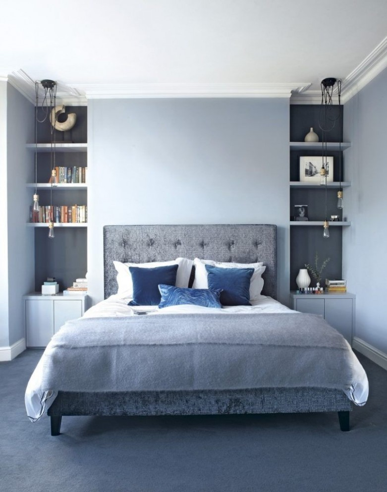 Blue Bedroom Ideas For Couples  Bedroom designs for couples  - Bedroom Ideas Grey And Blue