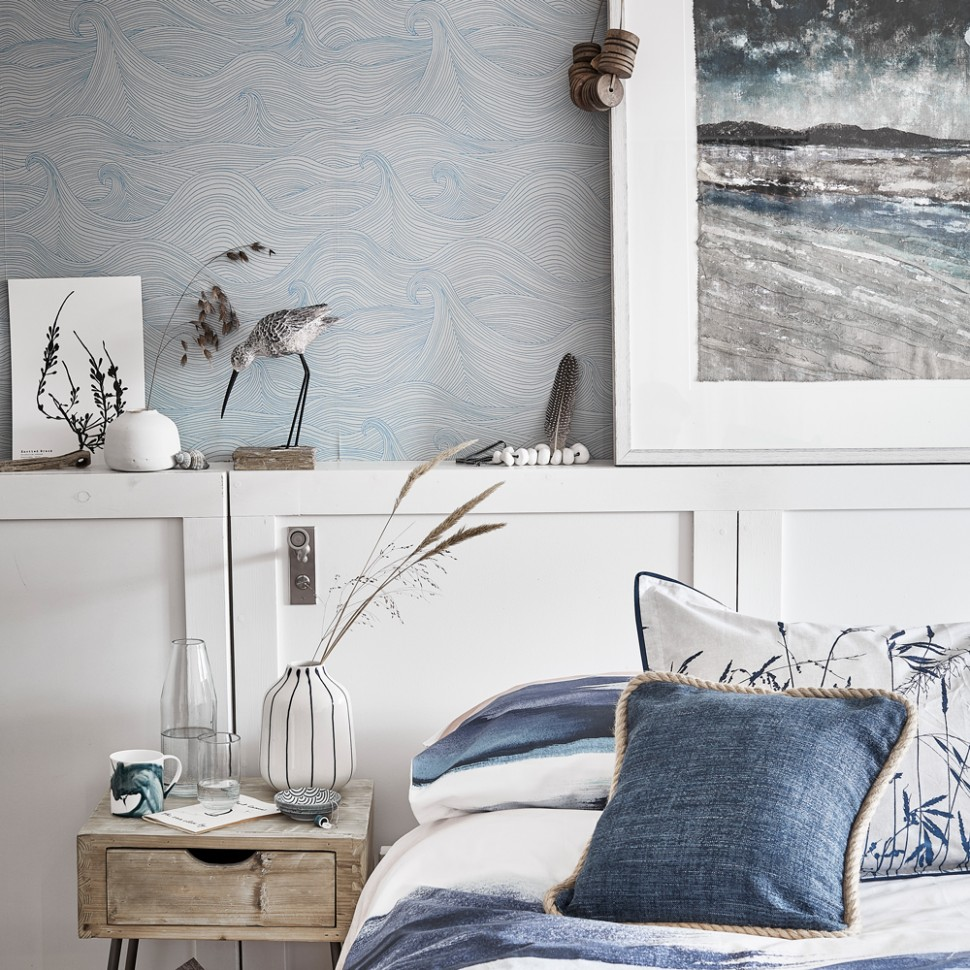 Blue bedroom ideas – see how shades from teal to navy can create a  - Bedroom Ideas Grey And Blue