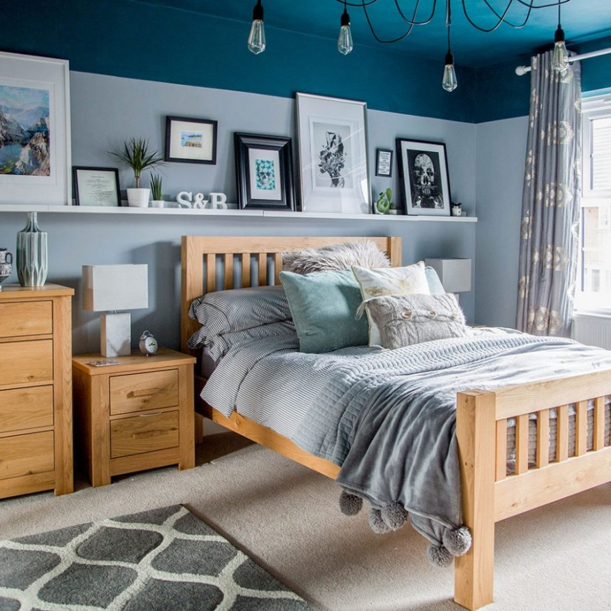 Blue bedroom ideas – see how shades from teal to navy can create a  - Bedroom Ideas Light Blue Walls