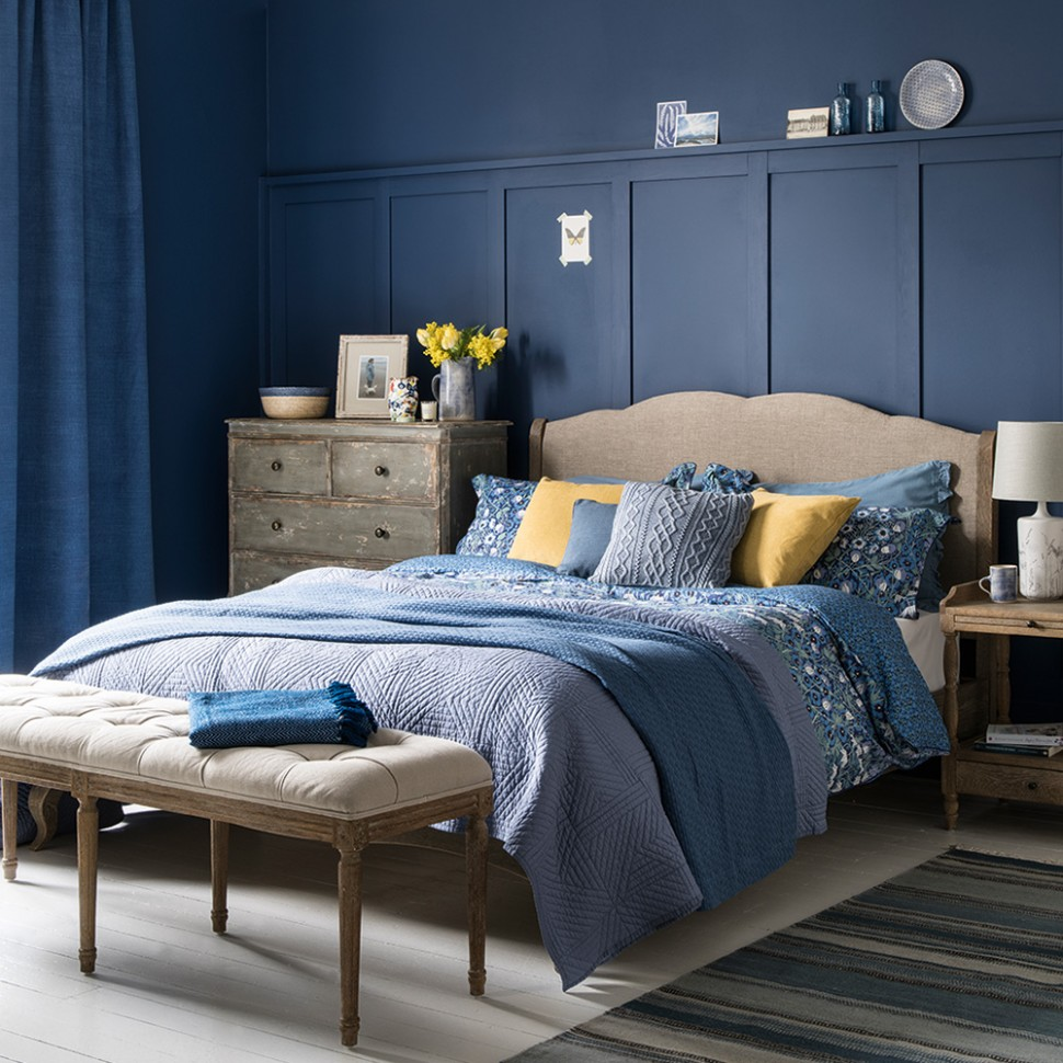 Blue bedroom ideas – see how shades from teal to navy can create a  - Bedroom Ideas Navy And Grey