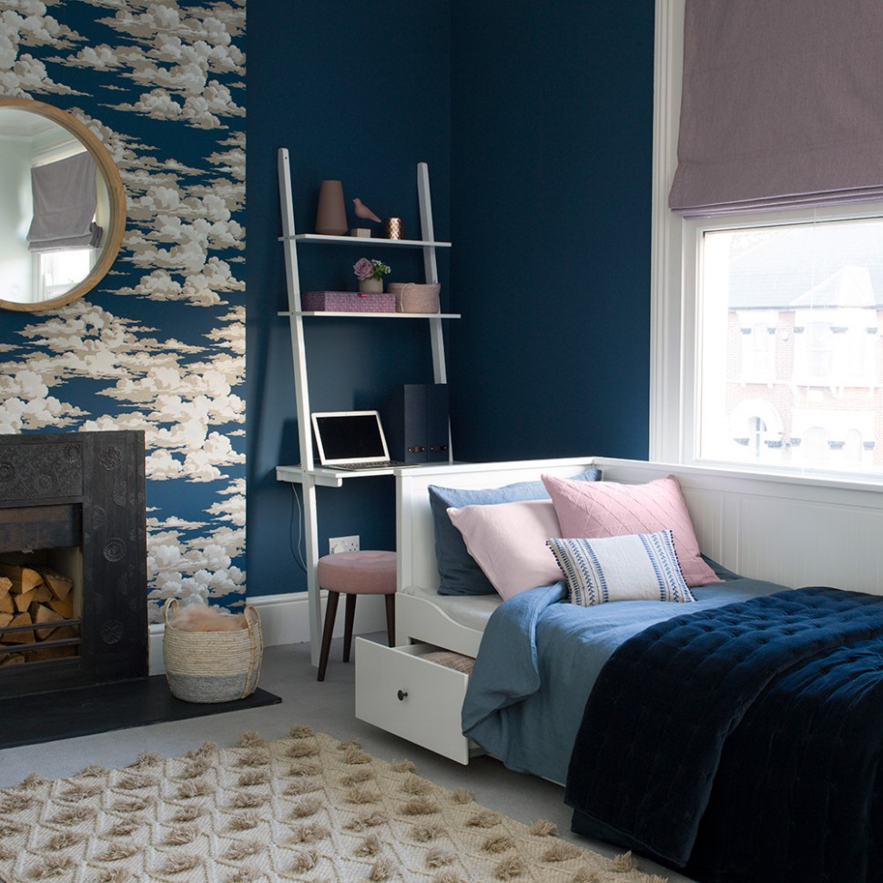 Blue bedroom ideas – see how shades from teal to navy can create a  - Bedroom Ideas Navy And White