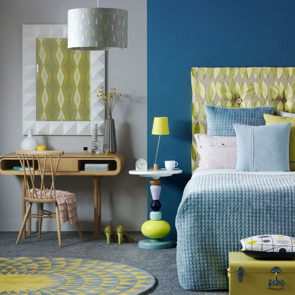 Blue bedroom ideas – see how shades from teal to navy can create a  - Bedroom Ideas Yellow And Blue