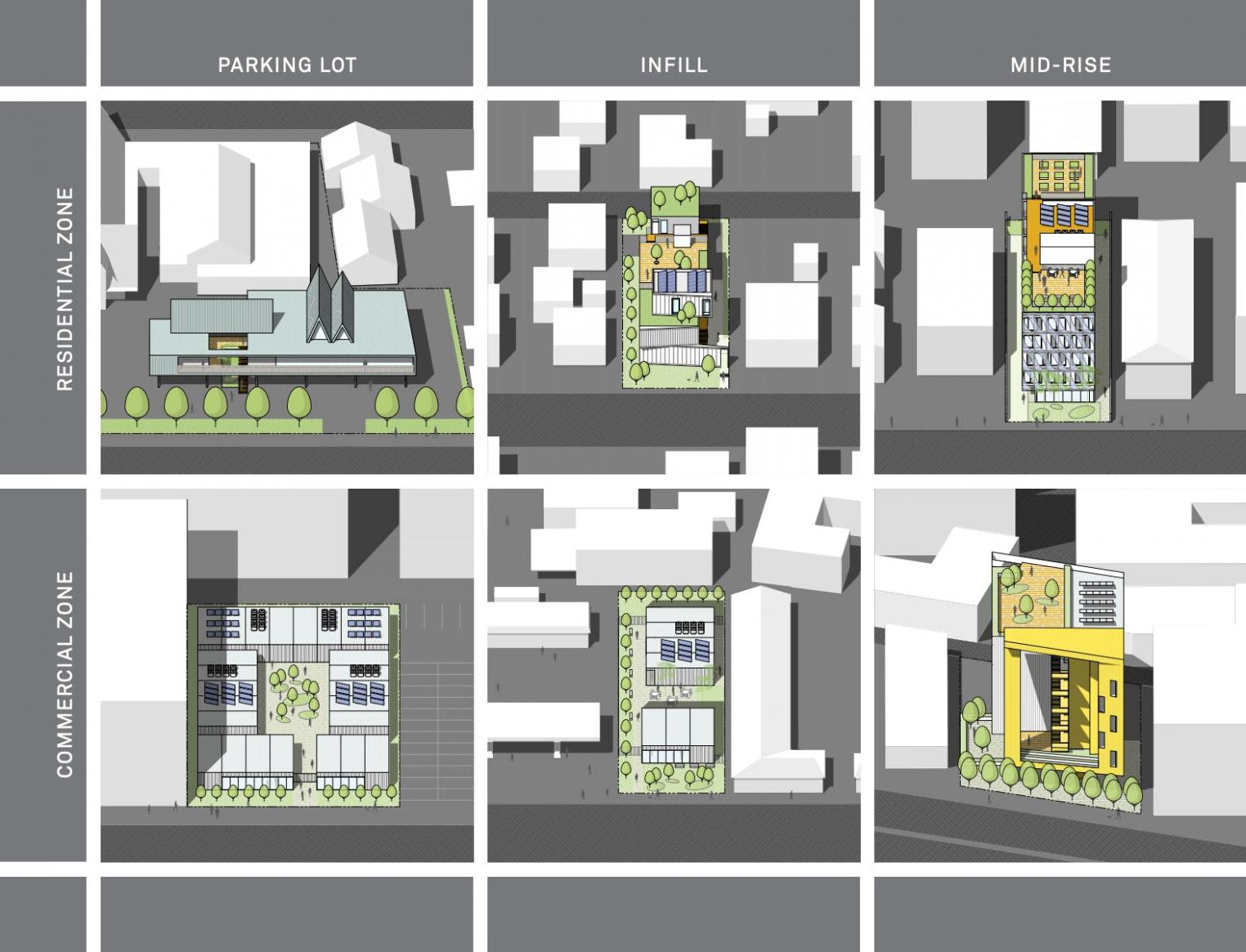 Brooks + Scarpa and Plant Prefab debut adaptable prefab  - Apartment Unit Design