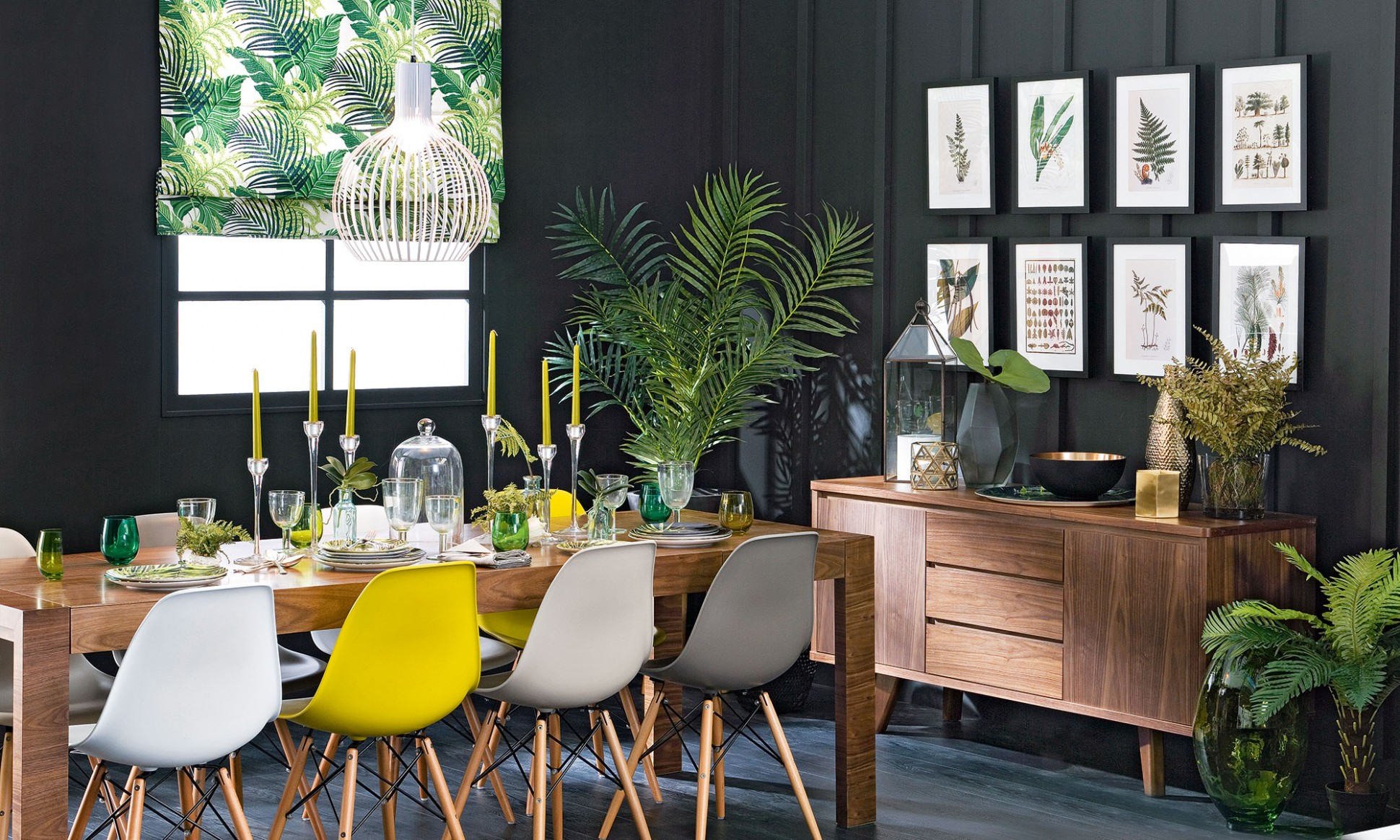 Budget dining room ideas – serve up a fresh look on a shoestring - Dining Room Ideas With Plants