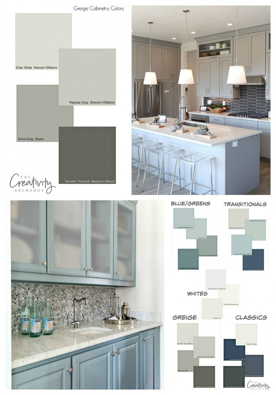 Cabinet Paint Color Trends and How to Choose Timeless Colors  - Choosing Kitchen Cabinet Color