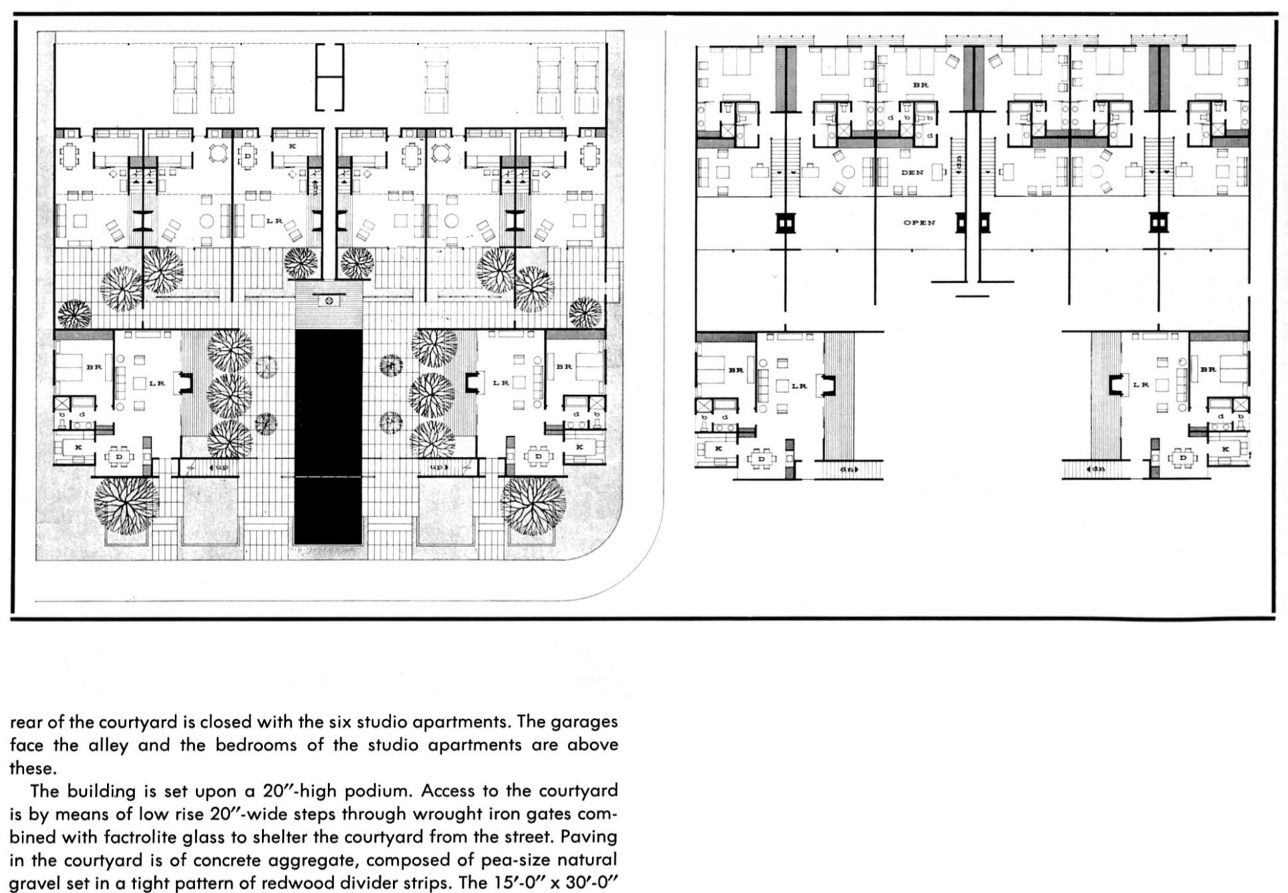 Case Study Apartment #11 11 Plan. Unbuilt
