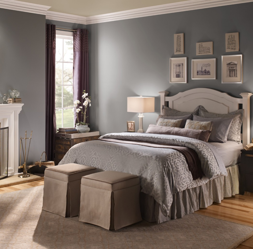 Casual Bedroom Ideas and Inspirational Paint Colors  Behr - Bedroom Ideas Paint