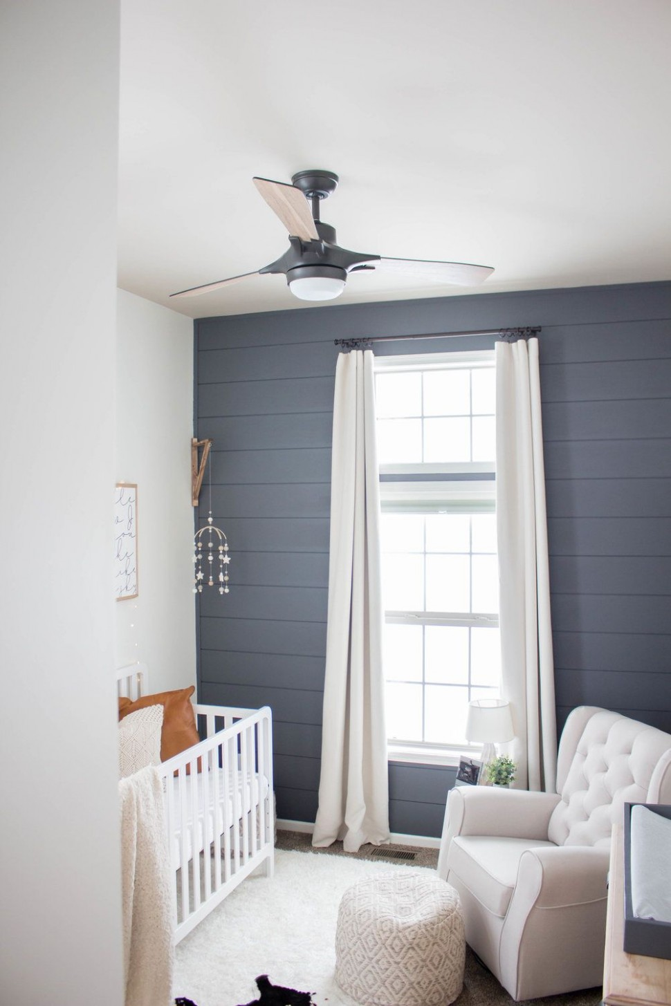 Ceiling Fan - Baby Boy Nursery  Baby boy room nursery, Nursery  - Baby Room Ceiling Fan