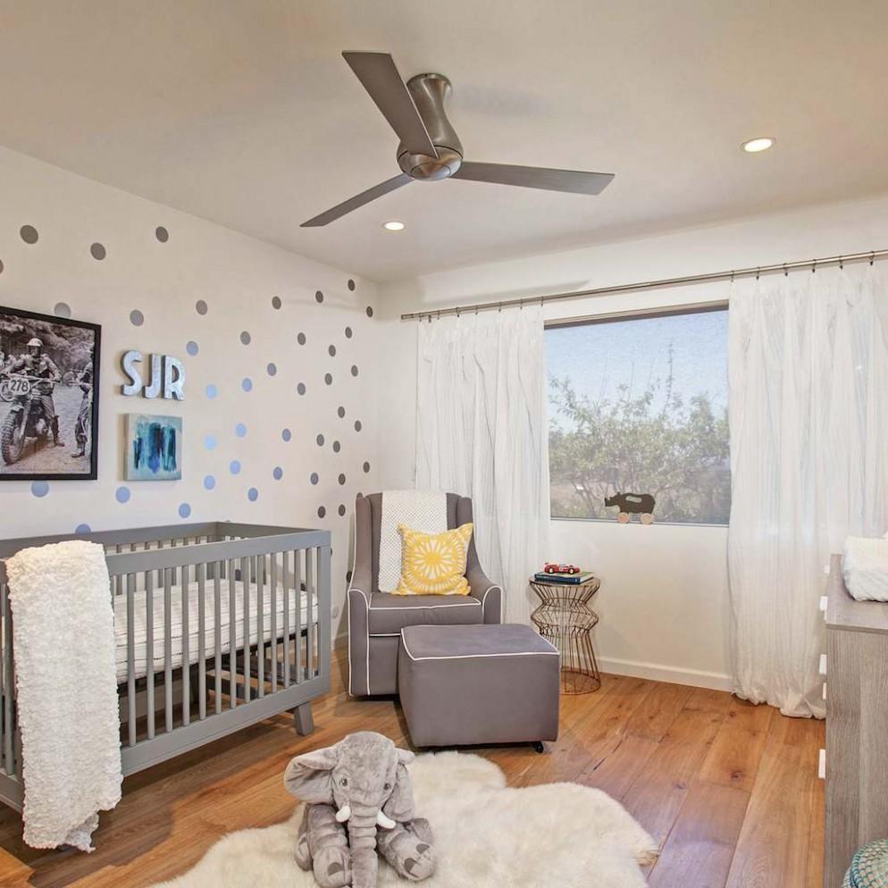 Ceiling fans in baby