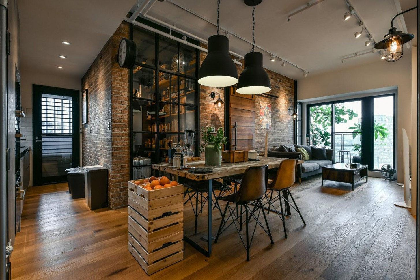 Charming Industrial Loft In New Taipei City  iDesignArch  - Industrial Apartment Decor Ideas