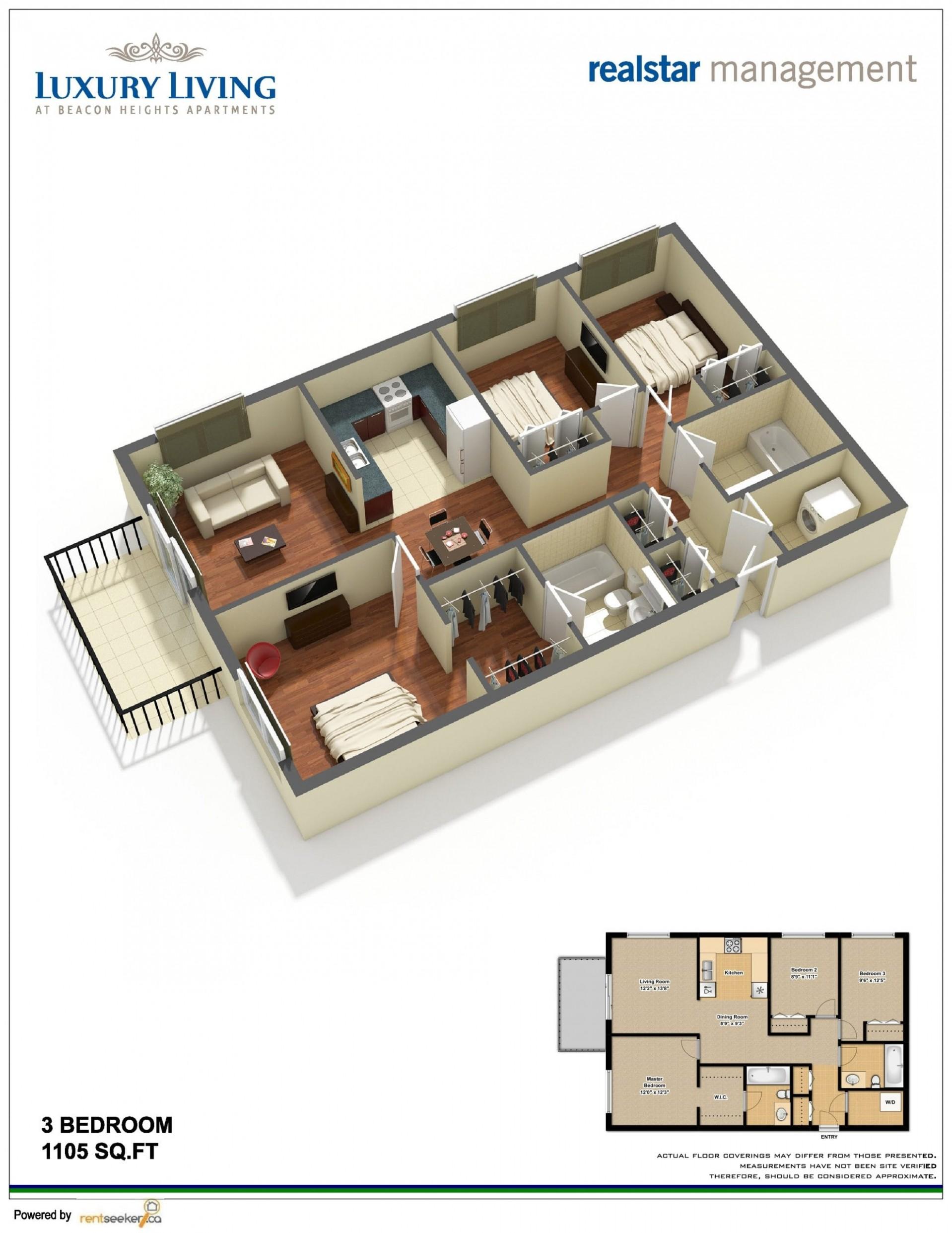 Choosing The Right Rental Apartment Layout - Apartment Design Floor Plan