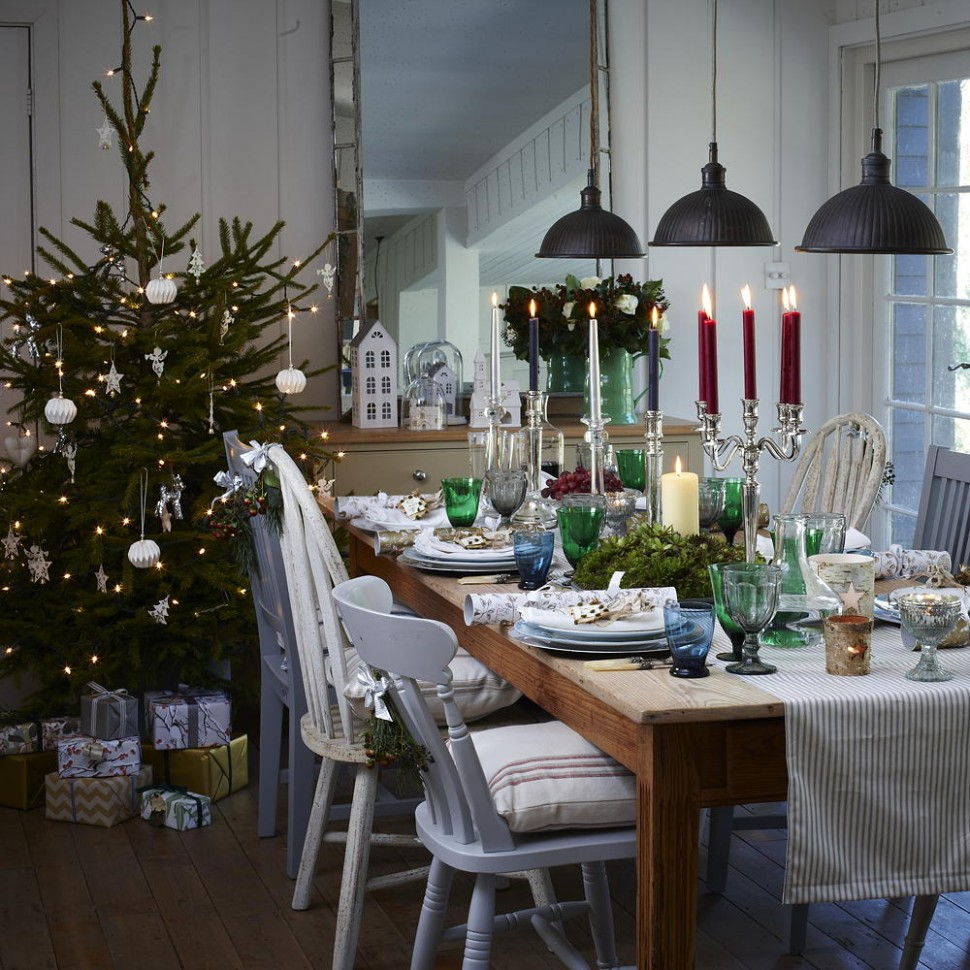 Christmas dining room ideas to add a flourish to Christmas dinner - Xmas Dining Room Ideas