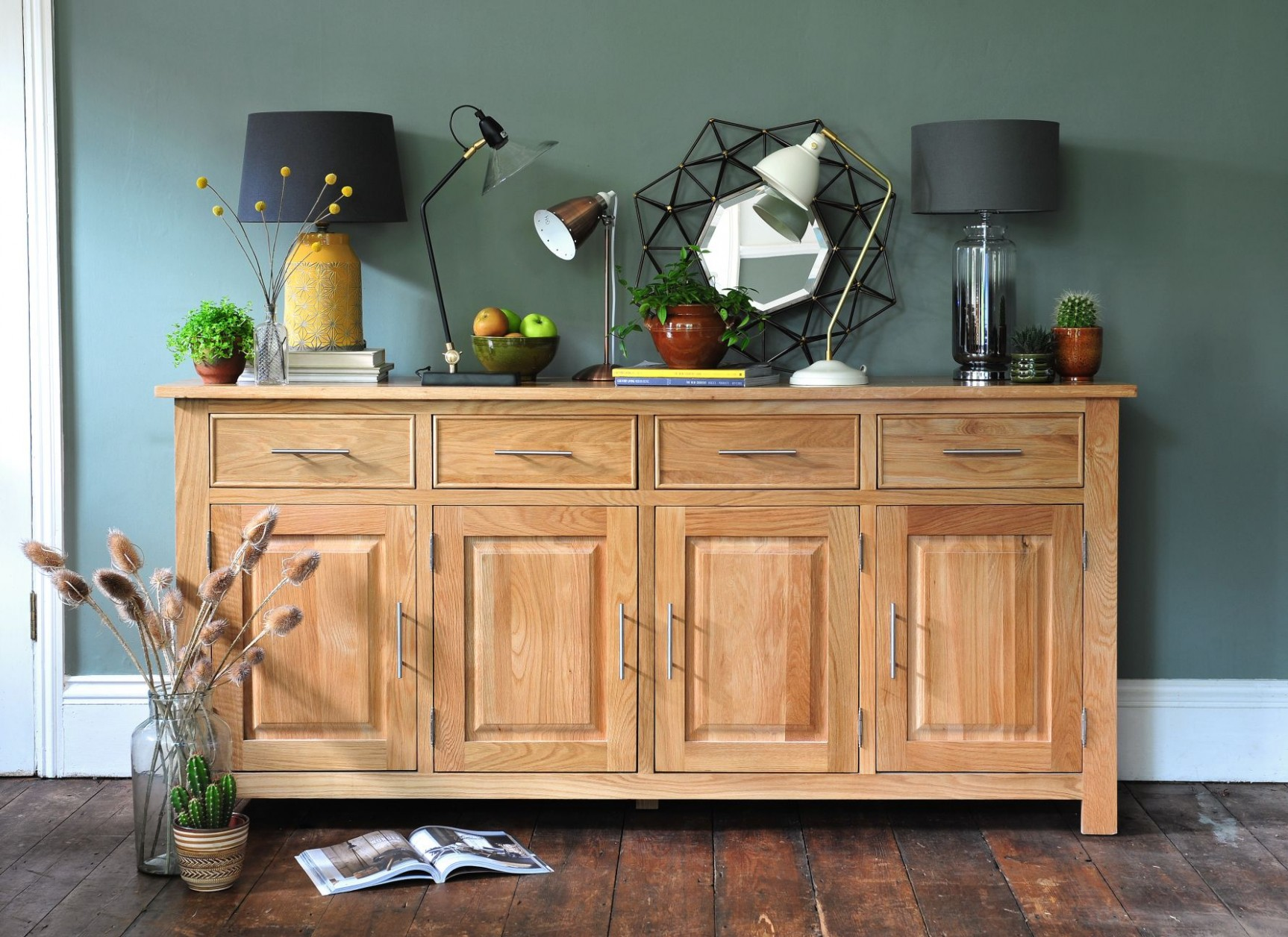 Colours that go with oak furniture  Oak dining room furniture  - Dining Room Ideas Oak Furniture