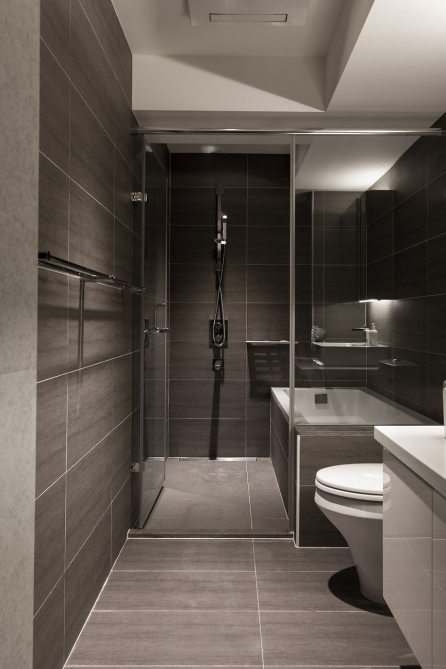 Contemporary Child-Friendly Apartment For A Young Urban Family  - Apartment Washroom Design