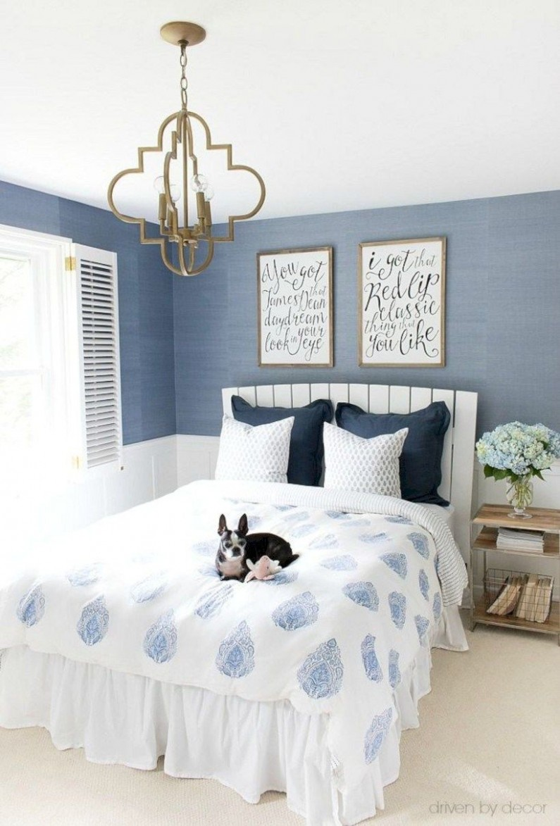 Cool blue and white bedroom design ideas 12  Blue and pink  - Bedroom Ideas Blue And White