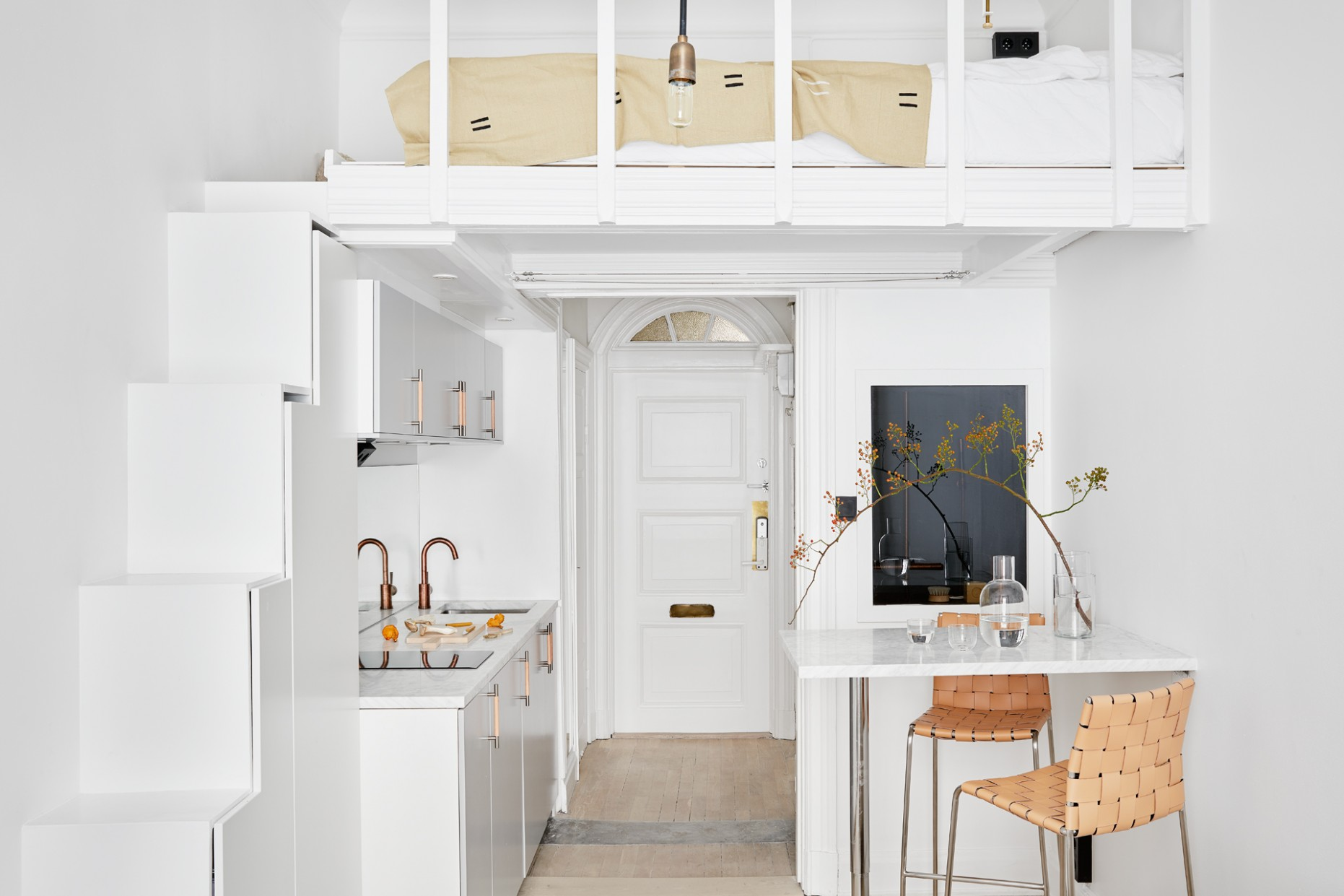 Could You Live in Under 8 Square Feet?  Apartment Therapy - Tiny Apartment Design Under 200 Sf