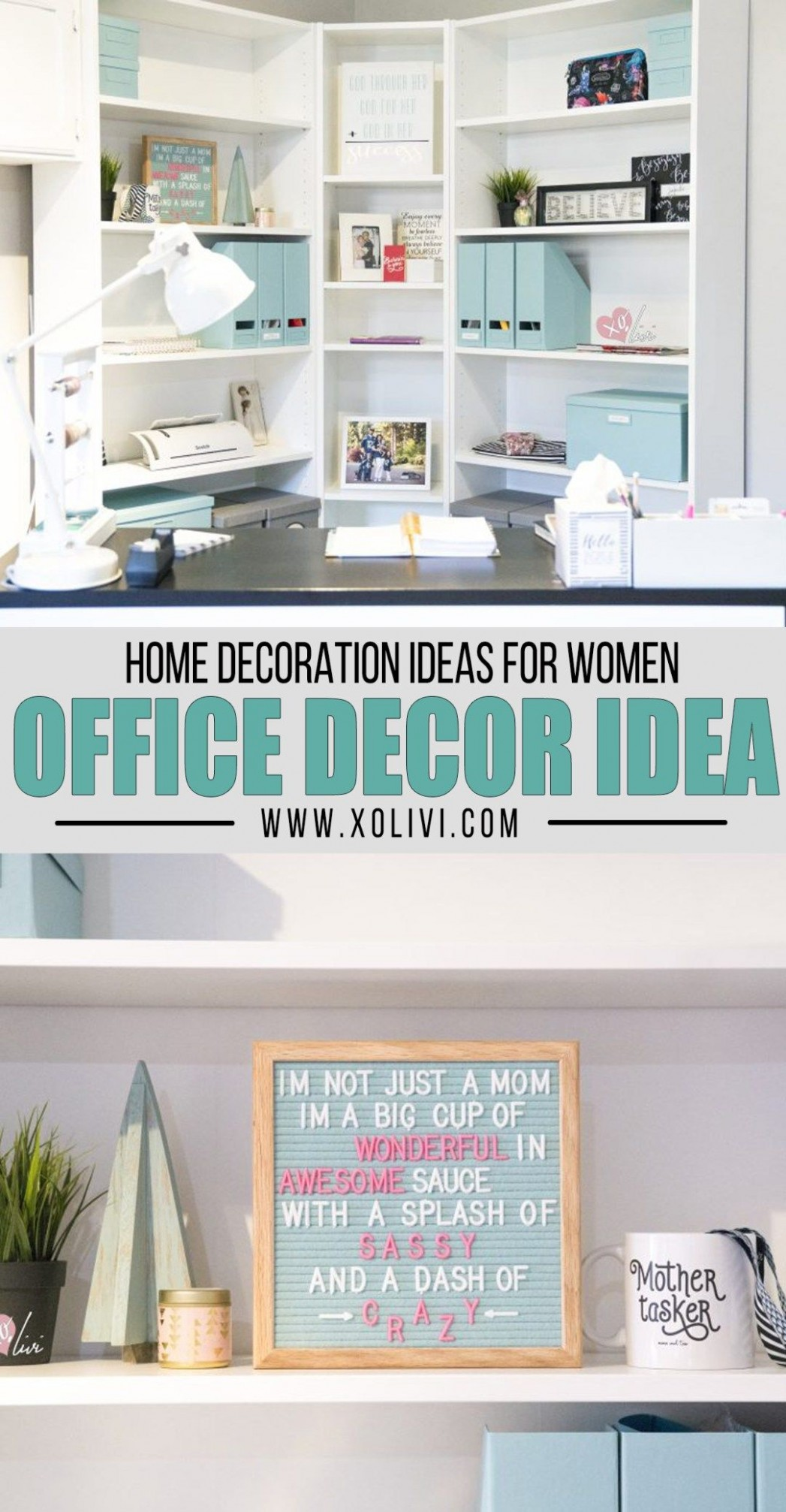 Creating An Office Corner On A Budget  Home office decor, Home  - Home Office Ideas Budget
